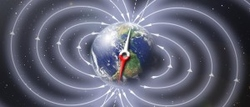Schematic illustration of Earth's magnetic field (Courtesy of NASA-Credit/Copyright: Peter Reid, The University of Edinburgh)